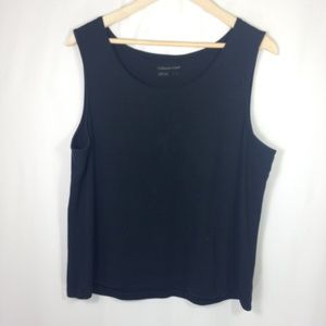 Coldwater Creek 100% Cotton Tank L